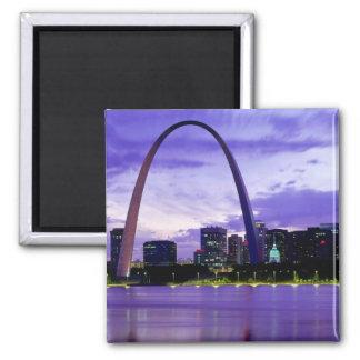 St. Louis Skyline Magnet