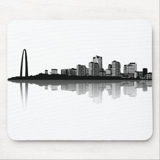 St. Louis Skyline Mousepad (b/w)