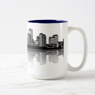 St. Louis Skyline Mug (b/w)