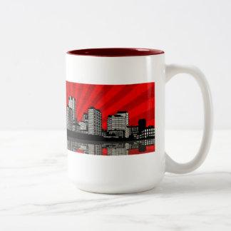 St. Louis Skyline Mug (red)