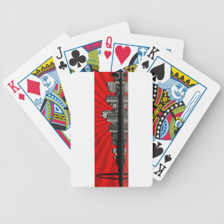 St. Louis Skyline Playing Cards (red)