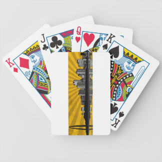 St. Louis Skyline Playing Cards (yellow)