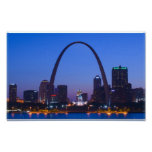 St. Louis Skyline Posters