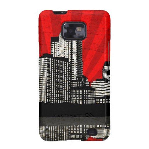 St. Louis Skyline Samsung Galaxy Case (r - detail) Samsung Galaxy SII Case