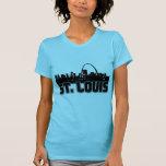 St Louis Skyline T Shirt