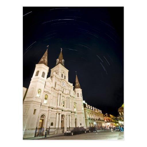 St Louis Star Trails Postcard