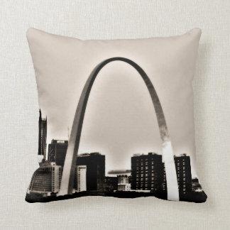 St.Louis Throw Pillow
