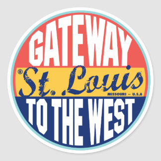 St Louis Vintage Label