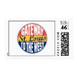 St. Louis Vintage Label Stamps