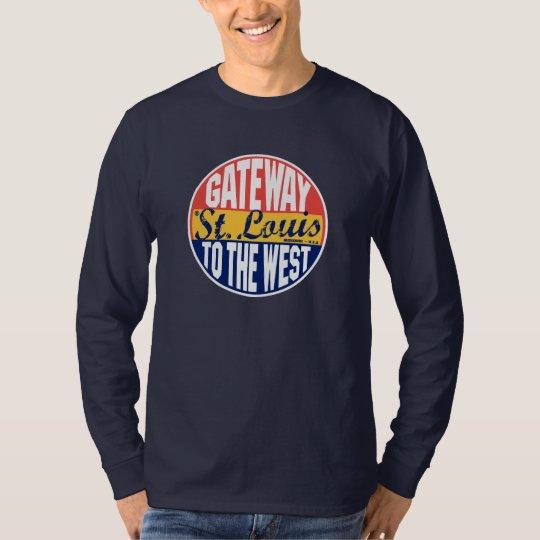 St Louis Vintage Label T-Shirt
