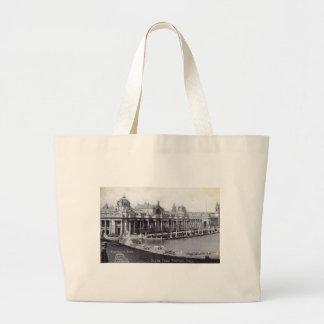 St. Louis World's Fair 1904 Vintage Large Tote Bag