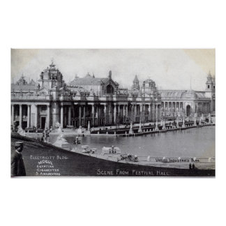 St. Louis World's Fair 1904 Vintage Print