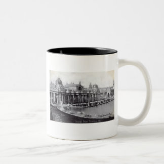 St. Louis World's Fair 1904 Vintage Two-Tone Coffee Mug
