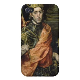 St. Louis y su página, c.1585-90 iPhone 4/4S Funda