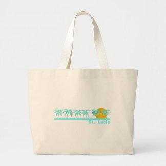 St. Lucia Jumbo Tote Bag