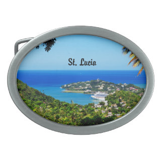 St. Lucia Belt Buckle