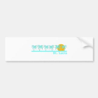St Lucia Bumper Stickers