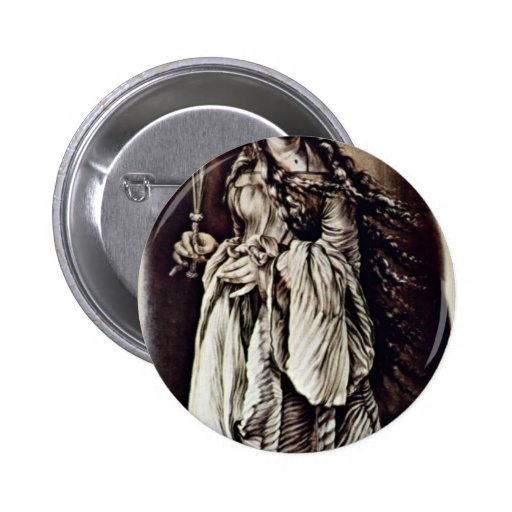 St. Lucia (?) By Grünewald Mathis Gothart Pinback Button