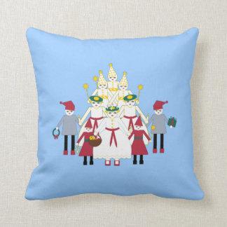 St. Lucia Christmas Pillow