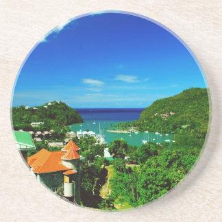 St. Lucia Coaster