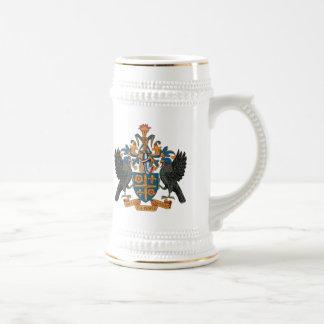 St. Lucia Coat of Arms Mug
