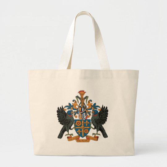 St. Lucia Coat of Arms Tote Bag