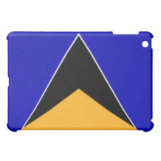 St. Lucia Flag  Cover For The iPad Mini