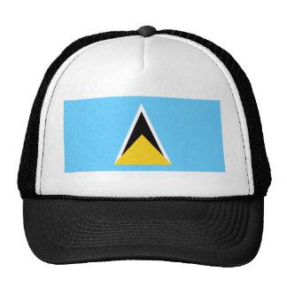 St Lucia Flag Hat