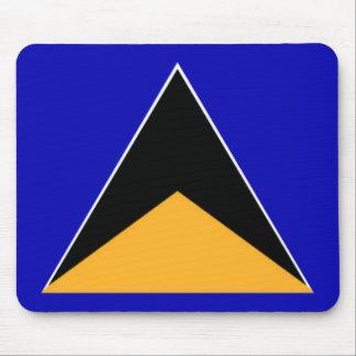 St. Lucia Flag Mousepad