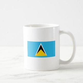 St. Lucia Flag Mug