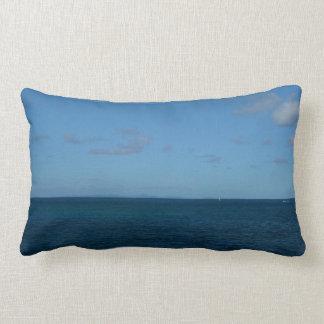 St. Lucia Horizon Blue Ocean Lumbar Pillow