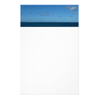 St. Lucia Horizon Blue Ocean Stationery