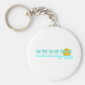 St. Lucia Keychain