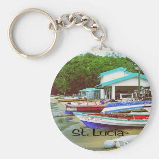 St Lucia Llaveros Personalizados