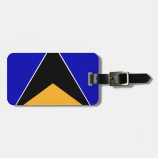 St. Lucia Luggage Tag