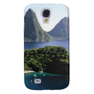 st_lucia_pitons_and_caribbean_sea samsung galaxy s4 cover