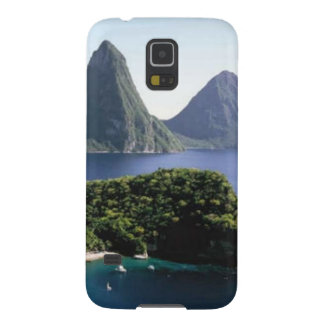 st_lucia_pitons_and_caribbean_sea galaxy s5 cover