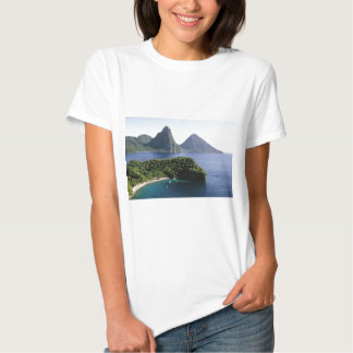st_lucia_pitons_and_caribbean_sea shirts