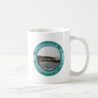 St Lucia Porthole Mugs