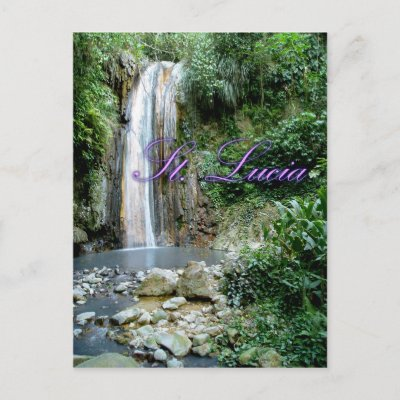 St Lucia Postcard