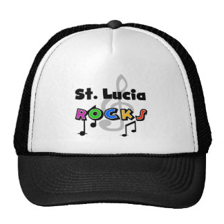 St. Lucia Rocks Mesh Hat