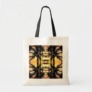 St Lucia sunset 1 Budget Tote Bag