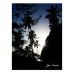 St. Lucia Sunset Post Cards