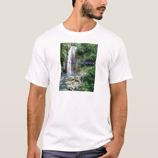 St Lucia Waterfall T-Shirt