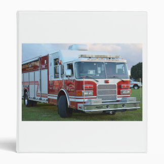 st lucie county firetruck front end fire truck 3 ring binders