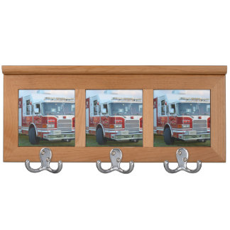 st lucie county firetruck front end fire truck coat rack