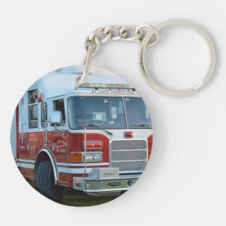 st lucie county firetruck front end fire truck acrylic key chains