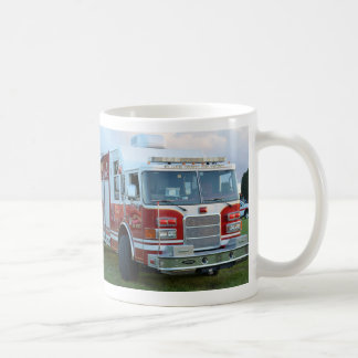 st lucie county firetruck front end fire truck classic white coffee mug
