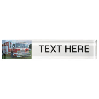 st lucie county firetruck front end fire truck nameplate