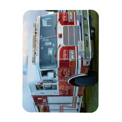 st lucie county firetruck front end fire truck magnet